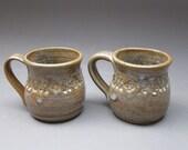 Pair of Stoneware Espresso Cups