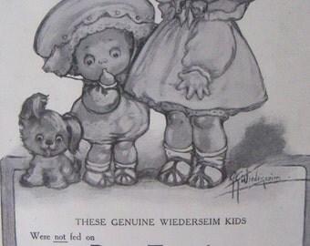 Post Toasties Advertising, 1911 Magazine Ad, Wiederseim Art Print, Illustration, Advertising Art, to Frame