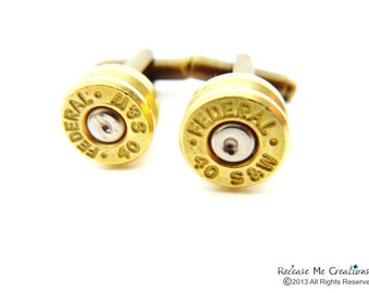 CUSTOM LISTING- RESERVED Winchester Cufflinks with Priority Shipping