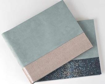 Metallic Leather & Suede Book - Boho Chic Style Album