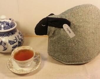 Sheep tea cozy, tea cosy: Lynne the sheep cozy