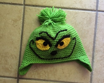 Adult sized Grinch hat