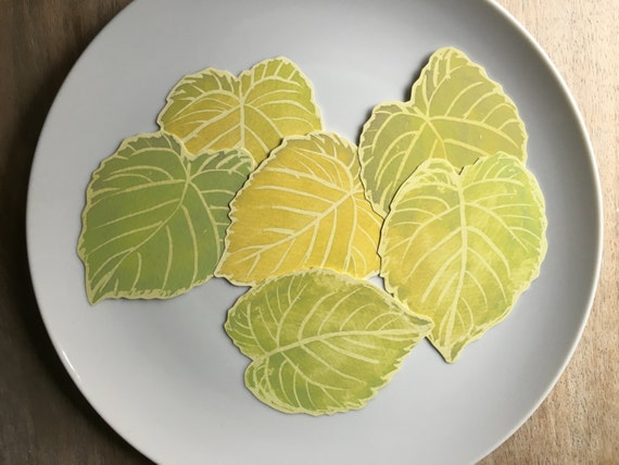 Green Leaves Wedding - Place cards, escort cards, dinner parties, weddings, events