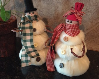 Country snowmen - snowman - Christmas Decor