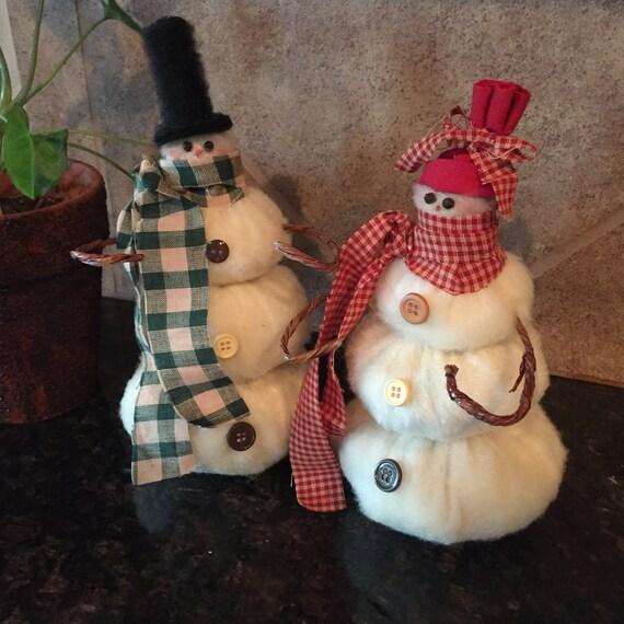 Country snowmen - snowman - Christmas Decor