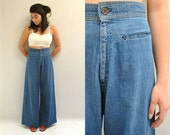 70s LEVI'S Denim Jeans  //  Bell Bottom Jeans  //  COUNTRY MADE