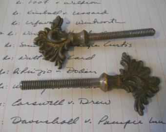 vintage mirror pivot screw (set of 2)