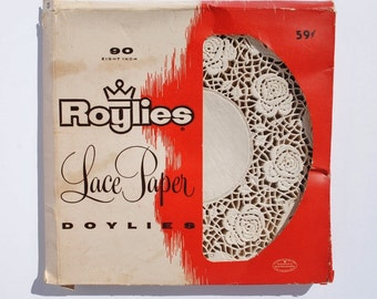 Vintage Roylies Lace Paper Doylies, Doilies - Party Supplies, Paper Supplies, Food and Entertaining, Paper Doilies, Mixed Media