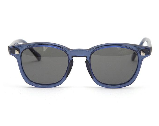 Vintage Deadstock American Optical Safety Glasses - Blue