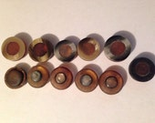 Vintage Bakelite Celluloid Button Shank Lot