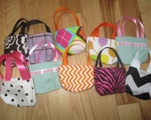 American Girl Doll Party Favors - 10 assorted doll purses for 18 inch dolls