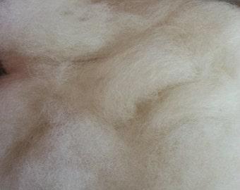 Dakota Natural I - Biotayarns Spinner's Web, 4 oz. - Fiber Blend for hand spinning, felting, wool crafts