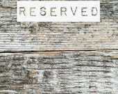 RESERVED for Retro Amanda