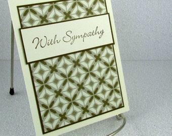 Sympathy Card Handmade Condolences Comfort Compassion Empathy