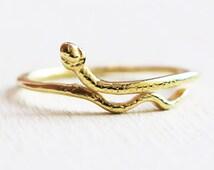 snake ring, gold snake ring, thin ring, gold ring, stacking ring, animal ring, band ring,boho rings, tiny ring,stackable bands,fashion rings