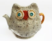 snowy owl tea cozy