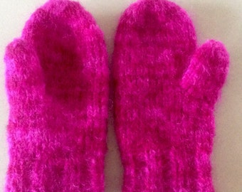 BRIGHT MITTENS, GLOVES, Arm Warmers,hand knitted gloves,hand dyed yarn