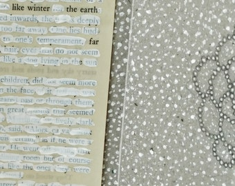 Found Text Poem with Drawing / Altar Piece / Like Winter, the Earth