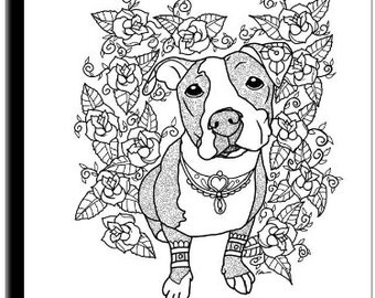 bull puppy coloring pages - photo#36