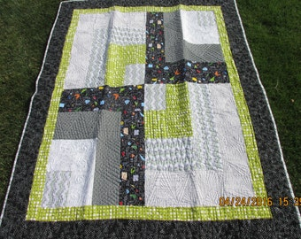 Modern, Snazzy, Lapsize Quilt