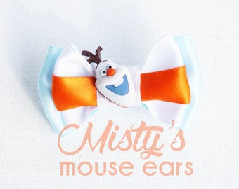 Inspired Olaf Slider Bow for Magicband