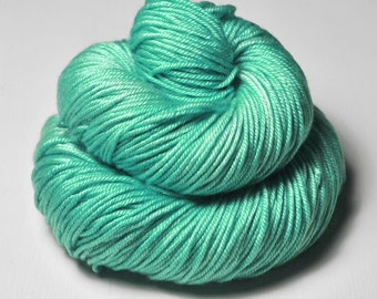 Green sea - Silk/Merino DK Yarn superwash
