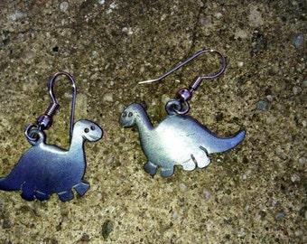 Vintage dinosaur earrings