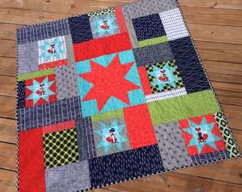 The Great Foxby Baby Quilt