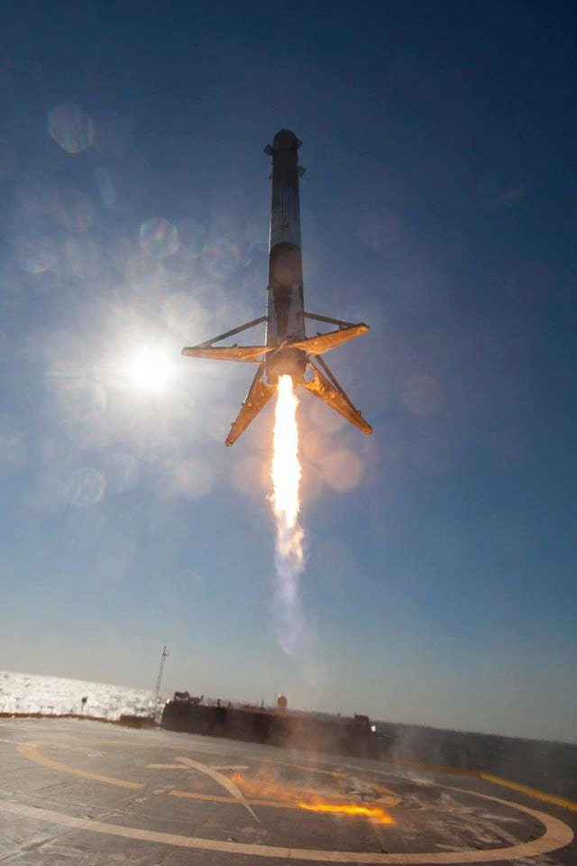 falcon 9 booster - photo #12