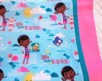 Doc McStuffins Childrens or Travel Pillow Case