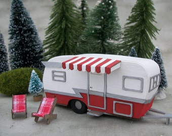 Putz Camper Kit - Build TWO campers- pre cut