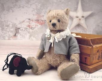Marmalade, One of a Kind Mohair Artist Teddy Bear from Aerlinn Bears