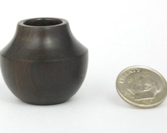 Miniature Southwestern Style blackwood pot