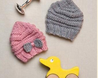 Knitting Pattern Baby PREEMIE Hat  Instant Download Knitting Pattern Baby PREEMIE Hat Knitted Hat Boy Girl Hat