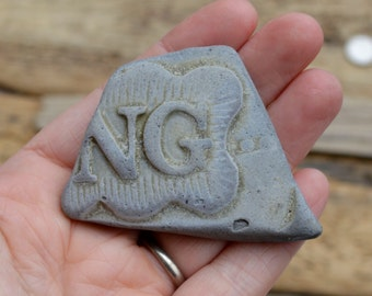 NG - CHUNKY POTTERY - Scottish Beach Pottery Supplies (4525)