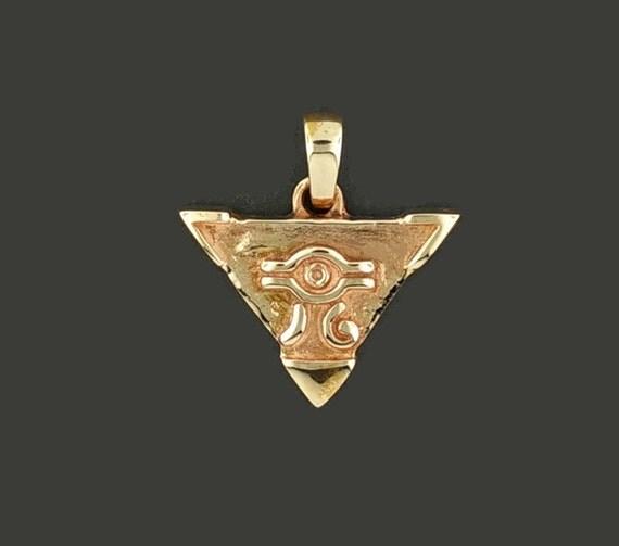 Yugi-O Millennium Puzzle in Antique Bronze