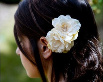 Flower girl hair clip, Bride's maid hair clip