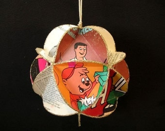 Alvin & The Chipmunks Album Cover Ornament Made of Record Jackets - Music For Children, Cartoons