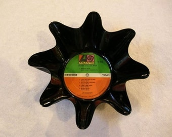 Crosby Stills & Nash Record Bowl Made From Vinyl Album - CSN