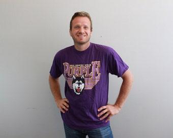Vintage University of Washington Huskies Tshirt