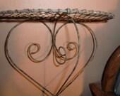 Wire heart Shelf