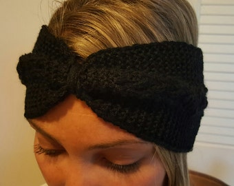 Hand Knit Headband Ear Warmer