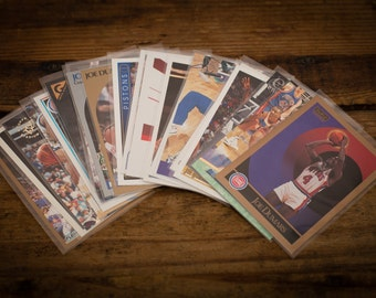 Joe Dumars Lot of 20 Basketball Cards, Detroit Pistons, Vintage 90s