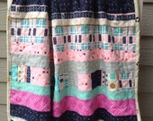 Cotton and Steel Baby Girl Blanket