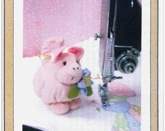 Pearl Louise Designs Petunia Piggy Pincushion Pattern