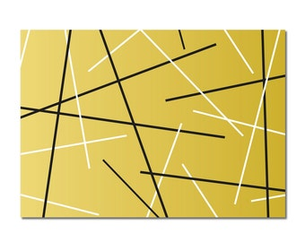 Lines Pattern  - set of 8 boxed notecards
