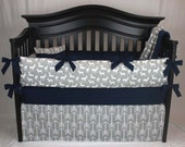 LOGAN 5 pc Baby Bedding Set