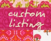 custom listing for Kelly Dorough
