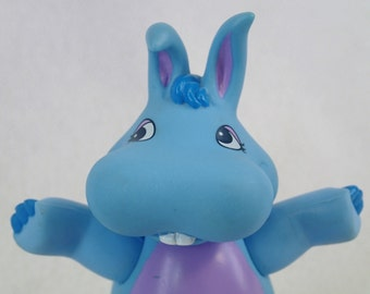 Disney's The Wuzzles Hoppopotamus Hippo Bunny Blue Fairy Poseable Figure Toy