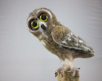 Neelde Felted Little Owl